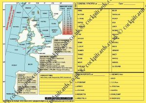 Cockpit Cards: Shipping Forecast Form